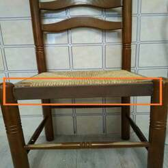 Silla.jpg Télécharger fichier STL gratuit Réparation des chaises . Incroyablement fort ! !! • Modèle pour impression 3D, calistoellisto