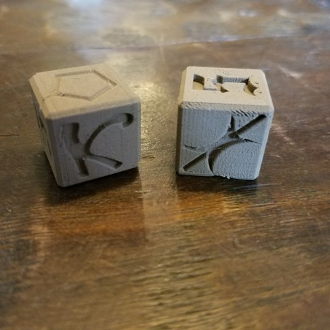 20180819_160741.jpg Download free STL file Chaos dice • 3D printer template, CWCDesigns