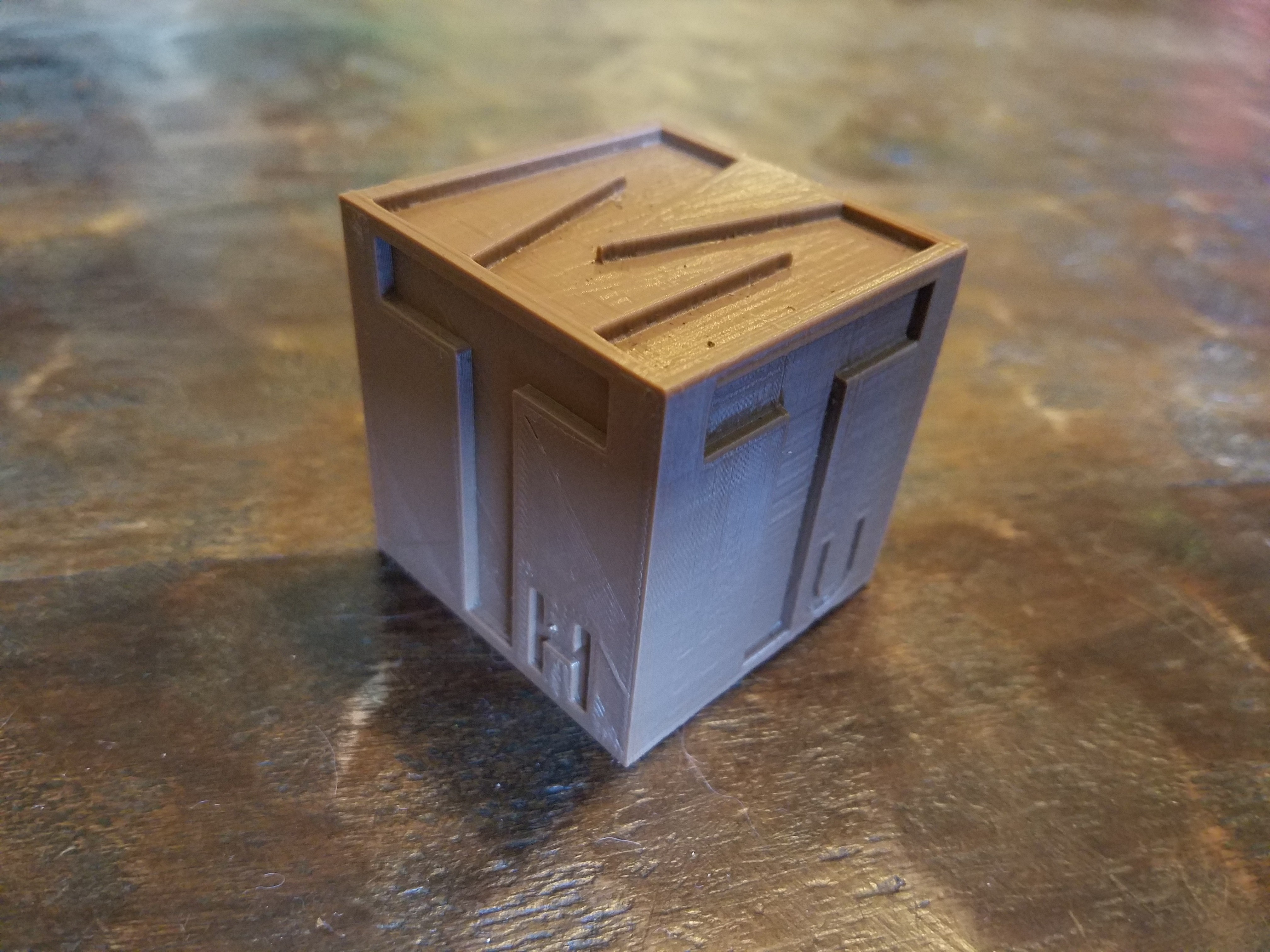 Day Cube.jpg Download free STL file Day Cube • 3D printer model, CWCDesigns
