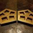 Free 3D printer designs Magnetic Chaos Dice Case , CWCDesigns