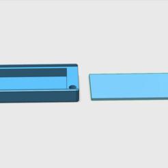 Imprimir en 3D caja de reemplazo de la insignia del edificio, videix