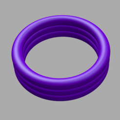 Bague A.png Download STL file Ring for penis • Template to 3D print, sebj1977stl