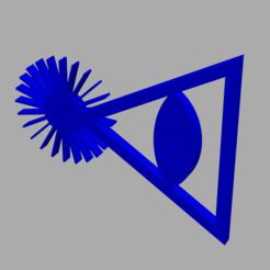 ILLUMINATI.png Télécharger fichier STL Objet illuminati • Objet pour impression 3D, sebj1977stl