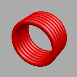 Bague B.png Download STL file Penis Ring • 3D printable model, sebj1977stl