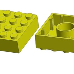 reduction-duplo-lego-3d-printing-238071.jpg Download free STL file Reduction Duplo -> Lego • 3D printer template, CharlesSmith