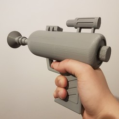 modelo stl gratis Rick and Morty's Ray Gun - dispara los dardos NERF, Wekster