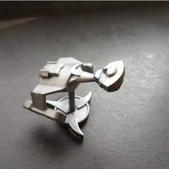 Free 3D printer file Puffy Vehicles - Klingon D7 Battlecruiser, Wekster