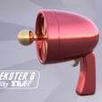 Free Earthworm Jim's ray gun STL file, Wekster