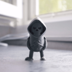 Free stl Mini Skeletor - Masters of the Universe, Wekster