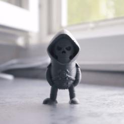 archivos 3d Mini Esqueleto - Maestros del Universo gratis, Wekster