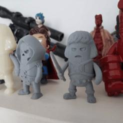 stl Mini He-Man con piezas móviles gratis, Wekster