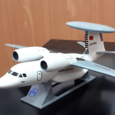 Free STL Antonov An-71, AVIZO