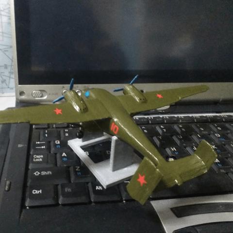Free Antonov An-14 3D printer file, AVIZO