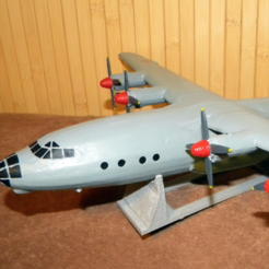 Free 3D printer files Antonov An-12, AVIZO