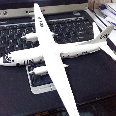 17809e3e96bc4e3c0ed3098d46dd1759_display_large.jpg Download free STL file Antonov An-26 • 3D printing object, AVIZO