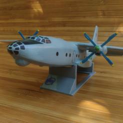 Télécharger fichier imprimante 3D gratuit Antonov An-8, AVIZO