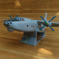 stl Antonov An-8 gratis, AVIZO