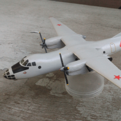 Free 3d printer files Antonov An-30, AVIZO