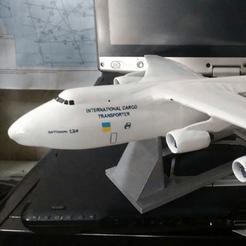 archivos stl Antonov An-124 gratis, AVIZO