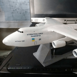 Free 3D printer file Antonov An-124, AVIZO