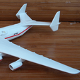Free 3D printer model Antonov An-225, AVIZO