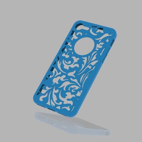 untitled.60.jpg Download 3DS file Iphone 7 Case • 3D print template, Alastor