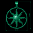 "20-03-2018 02-22-38.png Download 3DS file Pendant ""Star of the Asura"" • 3D printing model, Alastor"