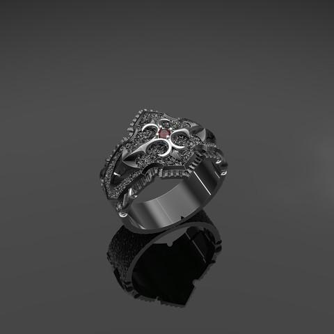 Download 3D printer designs Male ring, Alastor