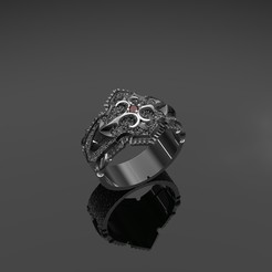 3D printer models Male ring, Alastor
