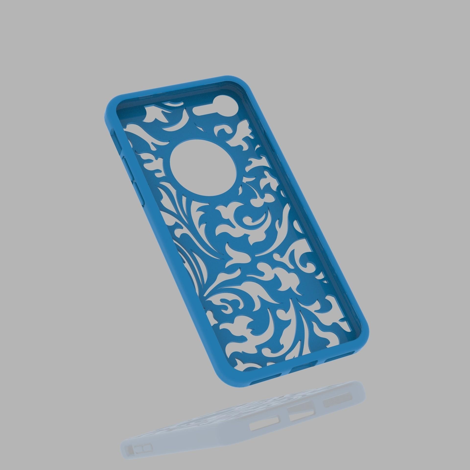 untitled.56.jpg Download 3DS file Iphone 7 Case • 3D print template, Alastor