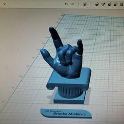 Plan 3D J'aime la main, brankomiokovic67