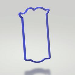 door handle.png Download STL file Door Handle Cookie Cutter (Mad Tea Party Collection) • 3D print template, sjryser