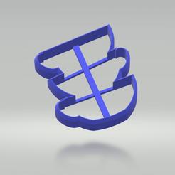 Descargar modelos 3D para imprimir Cortador de galletas de la taza de té (Colección Mad Tea Party), sjryser