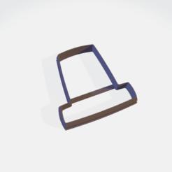 pilgrims hat.png Télécharger fichier STL Coupe-biscuits pour chapeau de pèlerin • Plan imprimable en 3D, sjryser