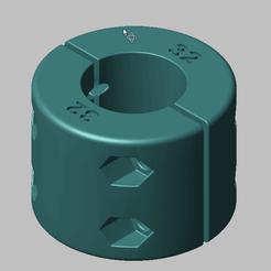 Impresiones 3D Protección de chasis de karting D32, stefcamera