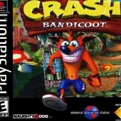 Crash Bandicoot [NTSC-U].jpg Télécharger fichier STL gratuit LITHOPHANE Cover Crash Bandicoot PS1 • Modèle à imprimer en 3D, RustyVince