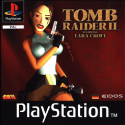 Tomb Raider ps1 jaquette.png Download free STL file LITHOPHANE Cover Tomb Raider 2 PS1 Playstation • 3D print template, RustyVince