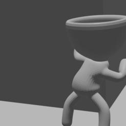 stalkerpng.png Download STL file Robert plant stalker • 3D printing design, drk0027