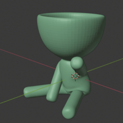 Captura de pantalla de 2020-08-30 21-19-50.png Download free STL file Robert Plant sitting pose • 3D printable object, drk0027