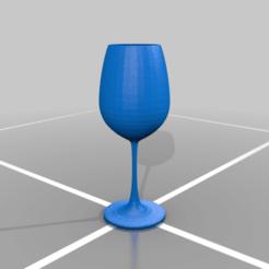 copita.png Télécharger fichier STL gratuit Coupe en verre • Modèle à imprimer en 3D, drk0027