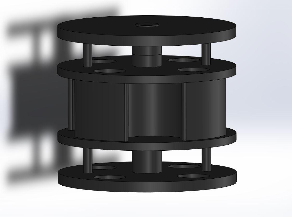 vue_3d.JPG Download free STL file Magnetic suspension • 3D printer template, dpeigne35