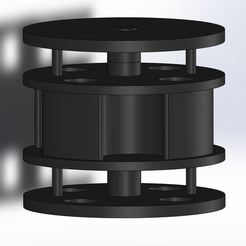 Free 3D printer designs Magnetic suspension, dpeigne35