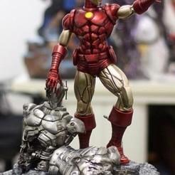 Télécharger modèle 3D gratuit Ironman contre Ultron, 3DArt
