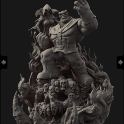 Download free 3D printing models Thanos and Death, 3DArt