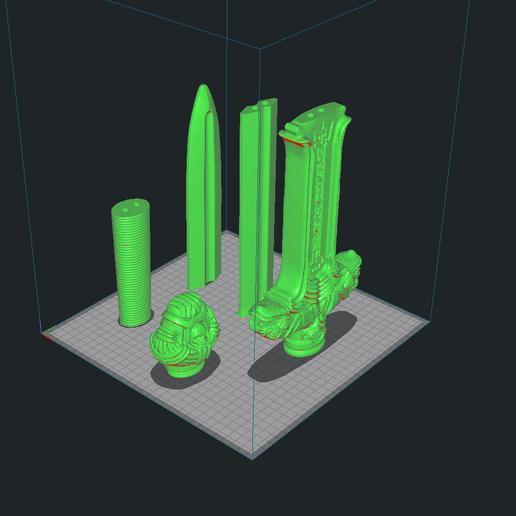 Descargar modelos 3D gratis Conan's Atlantean Sword, 3DArt