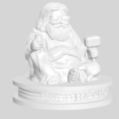 Download free 3D printer designs Thor Buddha, 3DArt