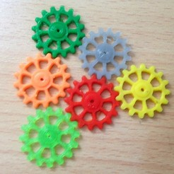 Download free 3D printer designs Gearing (gearing), Techmaker