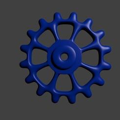 Gear (gear) STL file, Techmaker