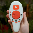 Download free 3D print files Remote for PC Youtube and netflix, Gyro