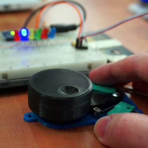 Download free STL Better rotary encoder, Gyro
